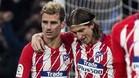 Filipe Luis espera que Griezmann se quede en el Atlético