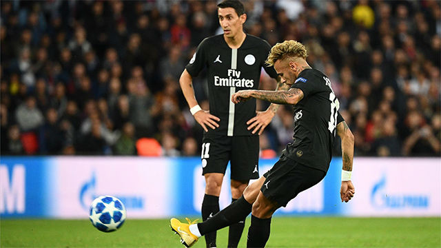 Francotirador Neymar: así fue su hat-trick con dos goles de falta