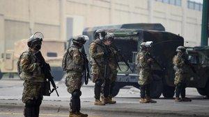 La Guardia Nacional llega a Mineápolis