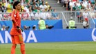 Guillermo Ochoa decepcionado tras la eliminación de su selección en Rusia