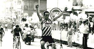El irlandés Sean Kelly, vencedor en Manresa en 1984