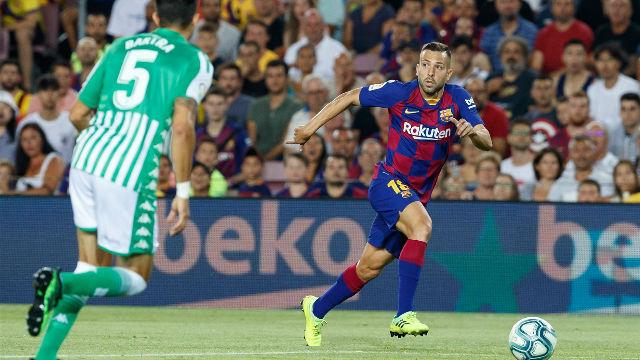 Jordi Alba: Cuando trabajamos en equipo es muy difícil ganarnos
