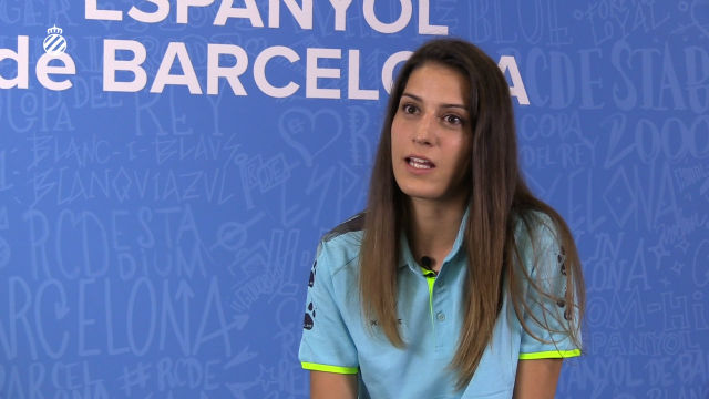Laura Fernández, primer fichaje del Espanyol Femenino