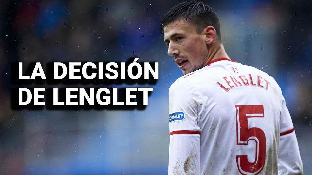 Lenglet debe dar una respuesta al Sevilla