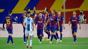 El Barça firma la sentencia del Espanyol