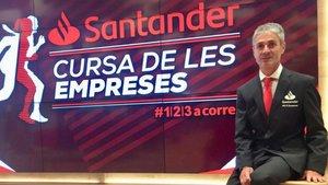 Martín Fiz correrá de esta guisa el domingo en la Cursa de les Empreses