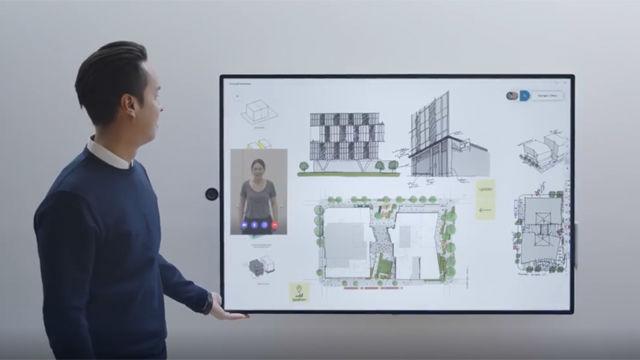 Microsoft presenta el futuro de las oficinas con Surface Hub 2