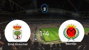 El Montijo se queda con los tres puntos frente al Emd Aceuchal (1-4)