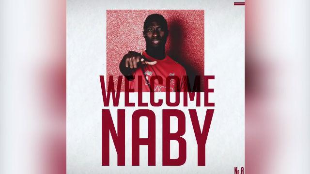 Naby Keita, nuevo jugador del Liverpool