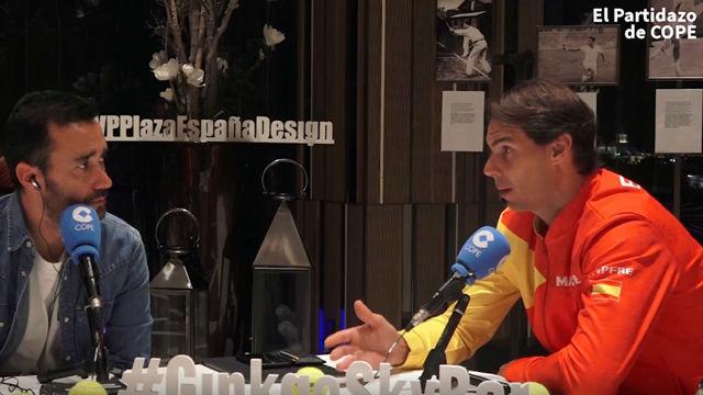 Nadal: Gerard y todo su equipo han conseguido algo muy difícil