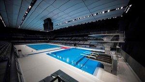 El nuevo Centro Acuático de Tokio se estrenó este sábado