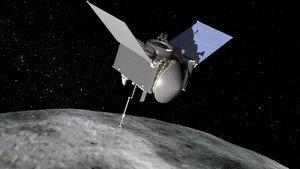 Osiris Rex de la NASA consigue recolectar muestras de un asteroide