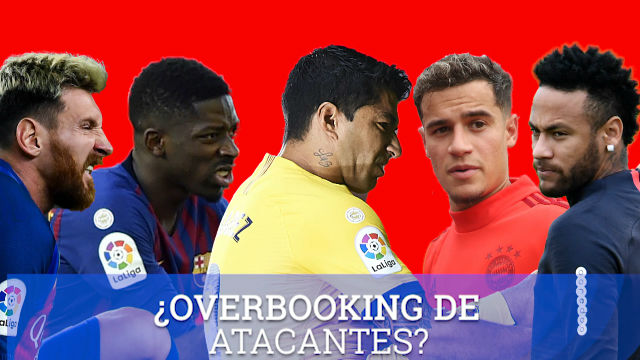 ¿Overbooking de atacantes? Ahora el Barça tiene solo 1 + 2