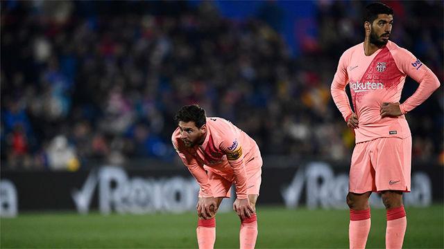 El pase delicatessen de Messi a Luis Suárez