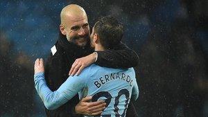 Pep Guardiola valora muy mucho la aportación de Silva