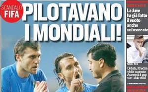 La portada del Corriere dello Sport de este viernes