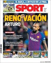 Portada de Sport del 22 de abril
