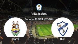 Previa del encuentro: el Ibarra recibe al Buzanada en la primera jornada