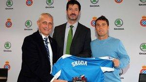 La primera experiencia futbolística de Skoda es con el Espanyol