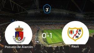 El Rayo B se lleva los tres puntos frente al Pozuelo de Alarcón (0-1)