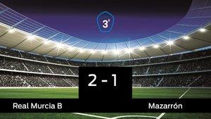 El Real Murcia B se queda los tres puntos frente al Mazarrón