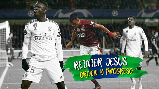 Reinier, otra apuesta brasileña del Real Madrid