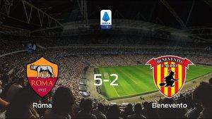 La AS Roma muestra su poderío tras golear al Benevento (5-2)