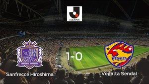El Sanfrecce Hiroshima vence 1-0 en su estadio frente al Vegalta Sendai