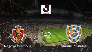 El Shimizu S-Pulse se lleva la victoria después de derrotar 1-2 al Nagoya Grampus
