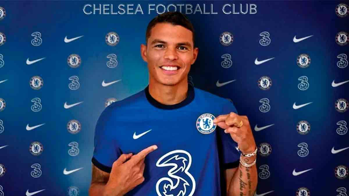 Thiago Silva ya promete llevar al Chelsea a un nivel superior