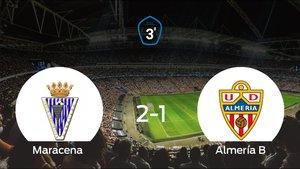 Tres puntos para el equipo local: Maracena 2-1 Almería B