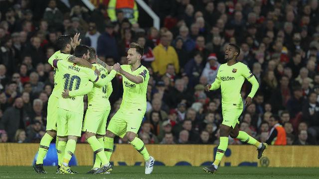 El video de una victoria para enmarcar: así fue el triunfo del Barça en Old Trafford