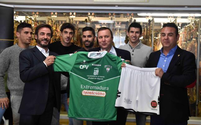 CF Villanovense: Un jamón, premio por marcar en el Camp Nou