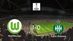 El Wolfsburgo consigue la victoria ante el Saint-Étienne (1-0)
