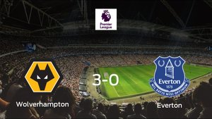 El Wolverhampton Wanderers consigue los tres puntos en casa tras pasar por encima al Everton (3-0)