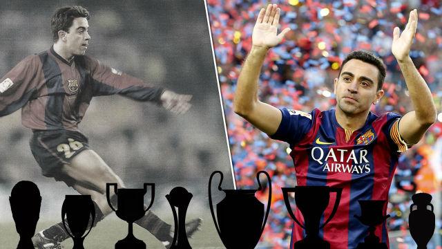Xavi, adiós a una leyenda