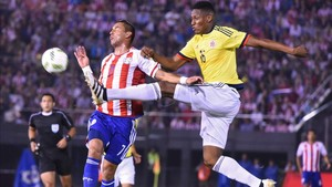Yerry Mina, en el punto de mira del Barça