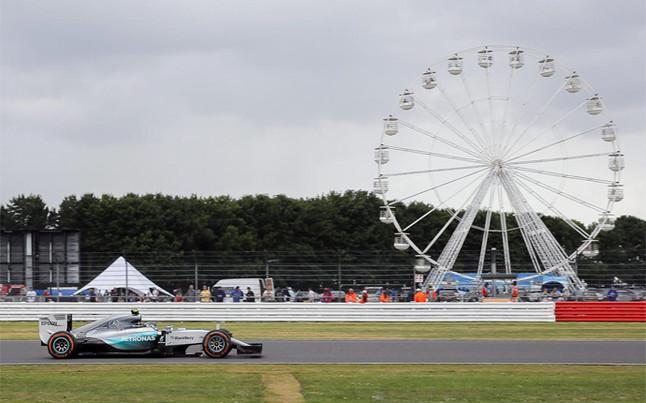 El circuito de Silverstone acoge el GP de Gran Bretaña de F1