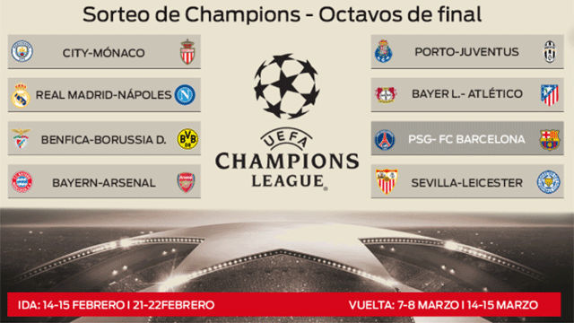 Sorteo Cuartos De Final Champions 2019 Photo: Sorteo Champions: Así Queda El Cuadro De Octavos De Final