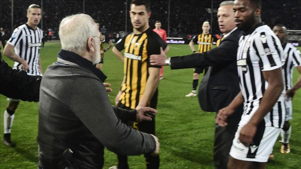 La Superliga griega se reanudará esta semana