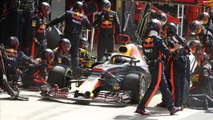 Daniel Ricciardo comenzara último en la parrilla en el GP de Alemania