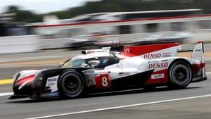 El Toyota #8 de Alonso logró el segundo mejor tiempo en los Libres
