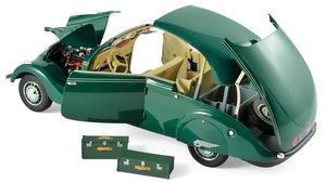 Miniatura de clásicos Peugeot