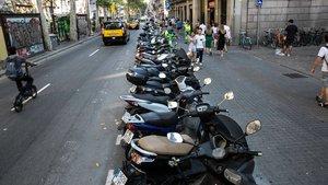 Motocicletas en Barcelona