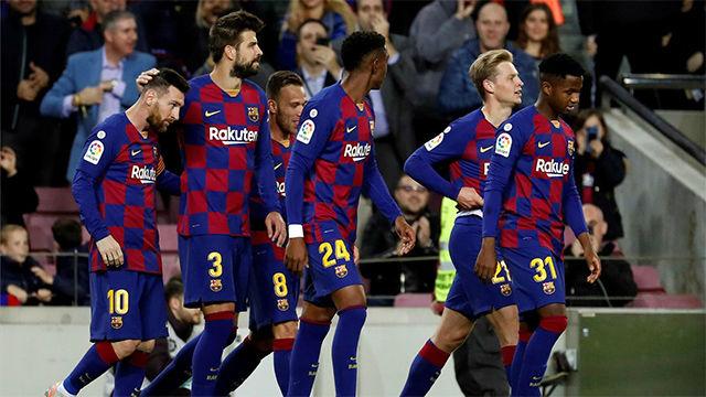 El 1x1 del FC Barcelona ante el Celta