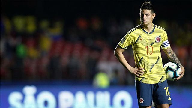 La apoteósica asistencia de James que dio media victoria a Colombia