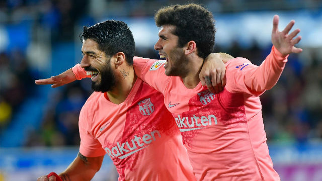 Así narraron las radios el gol de Luis Suárez