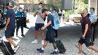Así ha sido la salida del hotel de los jugadores del Barça