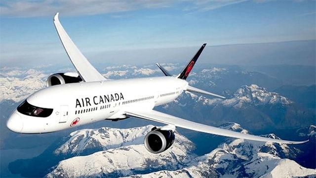 Un avión de Air Canadá prepara un aterrizaje de emergencia en Barajas