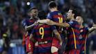 El Barça logró su cuarto título después de la Copa, Liga y Champions de la temporada pasada